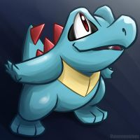 Totodile by unbadger
