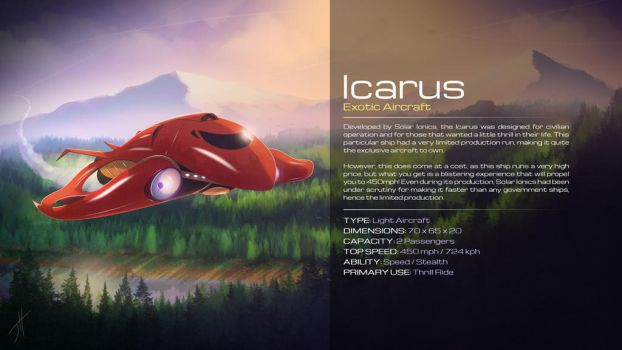 Icarus Ship 2018 Design by cashmeresky