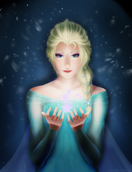 Elsa by Wingathon