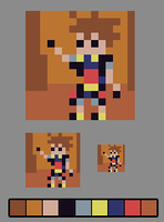 Sora ~ MINI-pixelart by Paulo60379