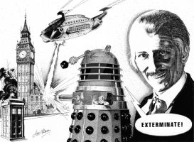 Dr Who (Peter Cushing) by iancan