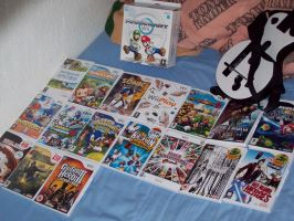 My Wii Games Collection by Generalsupertoad