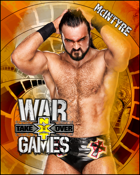 NXT TakeOver: WarGames by L3wap