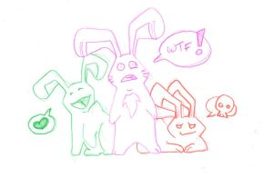 Bunnies by Dr-Blindsy