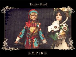 True Human Empire - Trinity Blood Cosplay by alberti