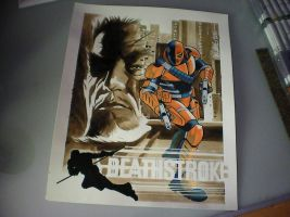 Deathstroke for Asher by BroHawk