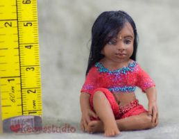 Anju, Indian Dollhouse Doll by ALBuslovich