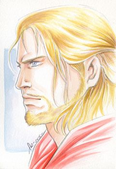 Thor-watercolor by Jolyne9