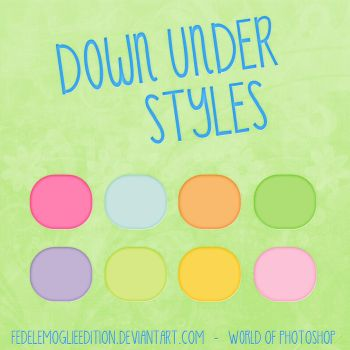 +Down Under Styles by FedeLeMoglieEdition