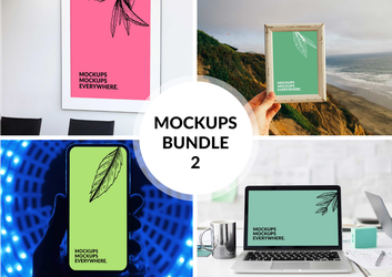 Free Browser Mockup Bundle 2 by MunaNazzal