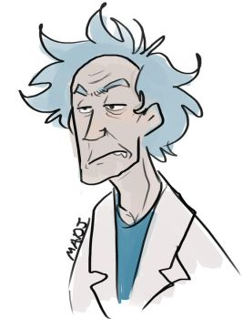 Doodle-Rick by MadJesters1
