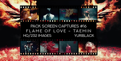 Pack Captures #16 - Flame of love [Taemin] by YuriBlack