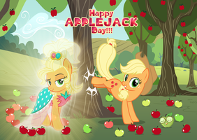 Applejack Day 2018 by AndoAnimalia