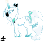 Crispy Frost ponified by Geeflakes-art
