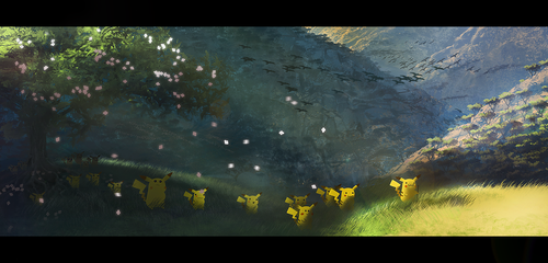 March of the Pikachu by medders