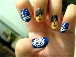 Phantomhive Nails by LeleMJ
