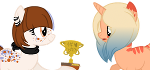 .:Doll:. Heres your Trophy! by Silent-Galaxies