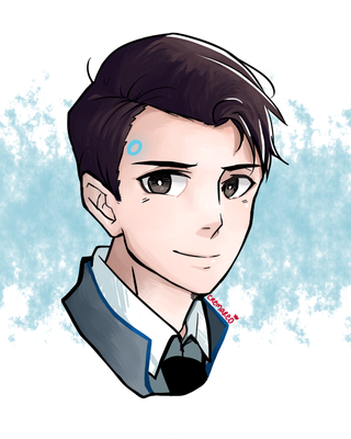 the android sent by cyberlife by cremareo