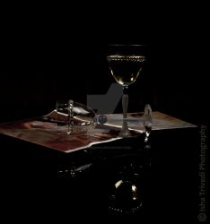 Wine Glass - Isha Trivedi Photography by trivediisha