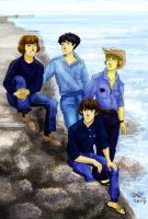 Jeans-y Beatles by Orchideacae