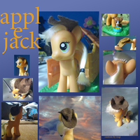 Custom Applejack by Roqi