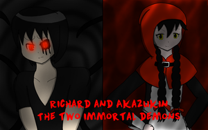 Two immortal demons by RichardtheDarkBoy29