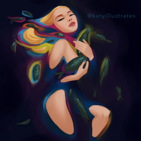 Day 66 - Oil Spill by katyillustrates