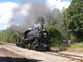 Conway Scenic Railroad Steam Engine 7470 by Transformerbrett97
