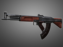 TKB-408 Korobov's Assault Rifle by Kutejnikov