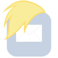 MLP:FiM Derpy Mane iPhone Mail Icon by craftybrony