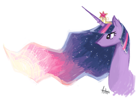 Princess Twilight Sparkle by tatinee