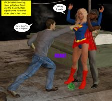 Supergirl in trouble2 by cattle6