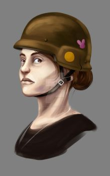 Army Chick - wip by GRAVEgoneCOLD