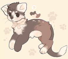 fawn kitten [CLOSED] by baedopts