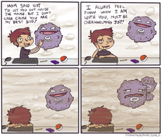 Koffing make great pets.