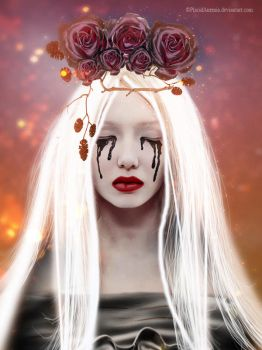Gothic Lady by PlacidAnemia