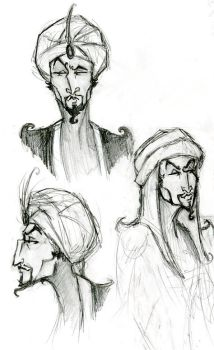 Ad Avis Faces--maghrabi by deviantquest