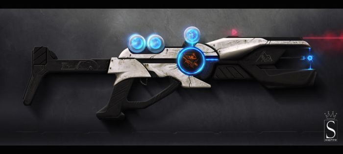 High-energy rifle by SaphireDesign