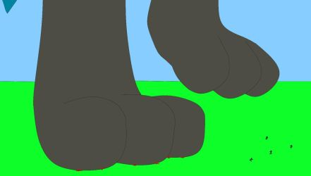 Lucario paws by Michael-95
