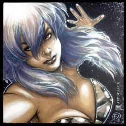 Motoko Kusanagi Ghost in the Shell by Art of Effix by effix35