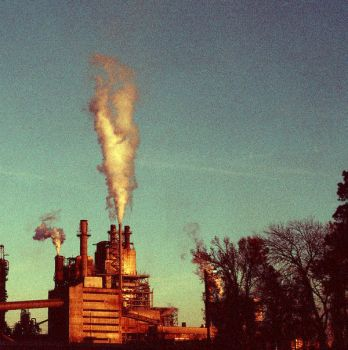 pollution factory by haleyhair