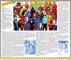 Standard Comics Encyclopedia - The Sentinels by roygbiv666