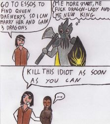 Game of Thrones SPOILER : Euron Greyjoy big plan by Kooskia