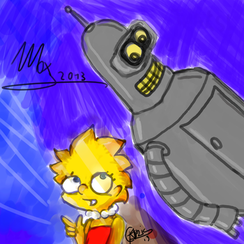 O.C. 1.1 session: another Lisa and Ben scribble by GladiatorRomanus