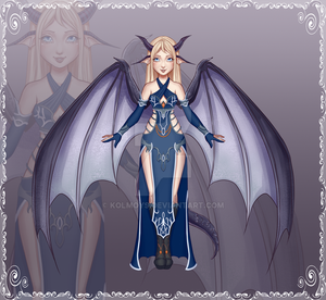 Luna in Outfit 81 (AB2 by Lifstrange) by Kolmoys