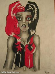 Harley Quinn (inspired by Amanda Conner) by Thaltha