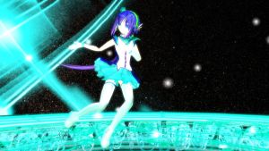 MMD Newcomer: Aoki Lapis Ver. 2 + DL by Pokeluver223