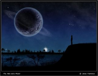 The Man and a Planet by Dvemor