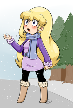 First Snow by SmallHoot