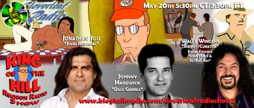 Cloverleaf Radio - King of the Hill Reunion Flyer by simplemanAT